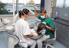 Ausbildung in der Klinik für Zahnerhaltungskunde und Parodontologie der CAU