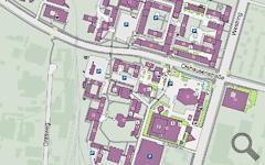 Kiel University campus plan